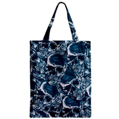 Skull Pattern Classic Tote Bag by ValentinaDesign