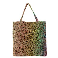 Crystals Rainbow Grocery Tote Bag by Mariart