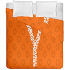 Iron Orange Y Combinator Gears Duvet Cover Double Side (california King Size) by Mariart
