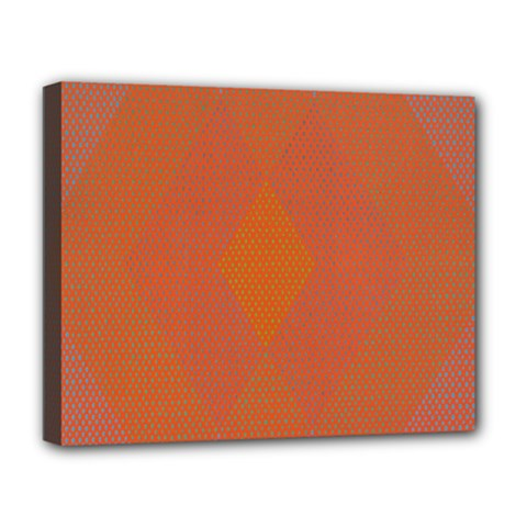 Live Three Term Side Card Orange Pink Polka Dot Chevron Wave Deluxe Canvas 20  X 16   by Mariart