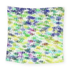 Paint On A White Background          Fleece Blanket by LalyLauraFLM