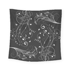 Floral Design Square Tapestry (small) by ValentinaDesign