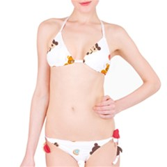 Chocopa Panda Bikini Set by Nexatart