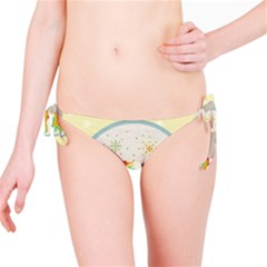 Unicorn Pattern Bikini Bottom