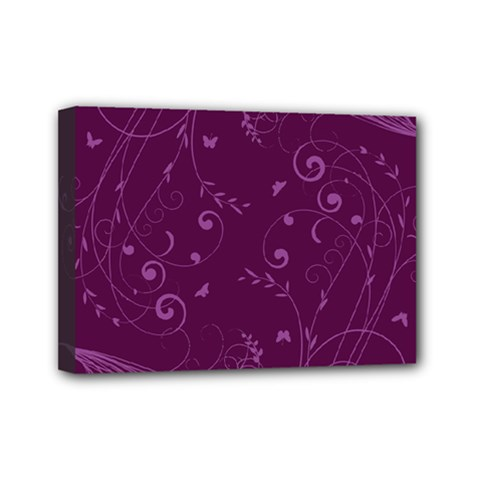 Floral Design Mini Canvas 7  X 5  by ValentinaDesign