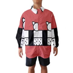 Sushi Cat Japanese Food Wind Breaker (kids) by Mariart