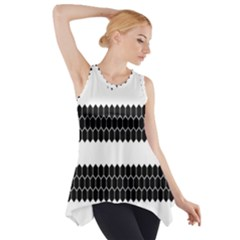 Wasp Bee Hive Black Animals Side Drop Tank Tunic