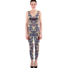 Multicolored Modern Geometric Pattern Onepiece Catsuit by dflcprintsclothing