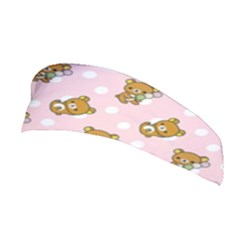 Kawaii Bear Pattern Stretchable Headband by Nexatart