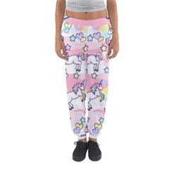 Unicorn Rainbow Women s Jogger Sweatpants by Nexatart