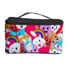 Cute Cartoon Pattern Cosmetic Storage Case by Nexatart
