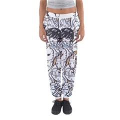 Cute Doodles Women s Jogger Sweatpants by Nexatart