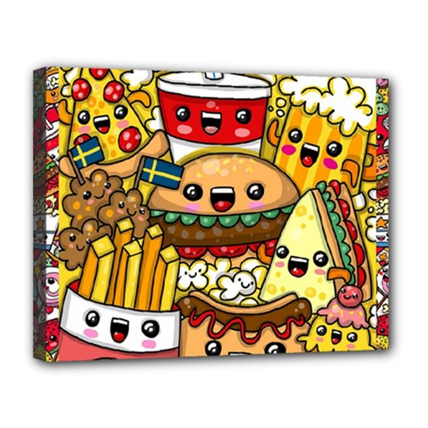 Cute Food Wallpaper Picture Canvas 14  X 11