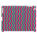 Retro Pattern Zig Zag Apple iPad 3/4 Hardshell Case (Compatible with Smart Cover) View1
