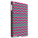 Retro Pattern Zig Zag Apple iPad 3/4 Hardshell Case (Compatible with Smart Cover) View2