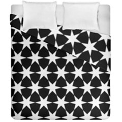 Star Egypt Pattern Duvet Cover Double Side (california King Size)