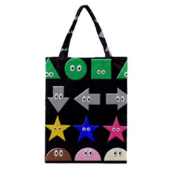 Cute Symbol Classic Tote Bag by Nexatart