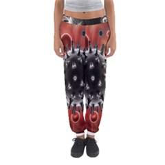 Cancel Cells Broken Bacteria Virus Bold Women s Jogger Sweatpants by Mariart