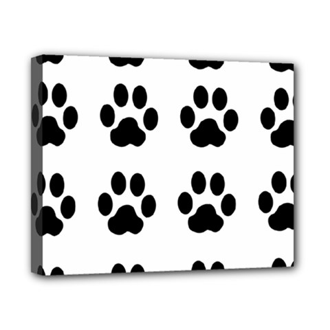 Claw Black Foot Chat Paw Animals Canvas 10  X 8  by Mariart