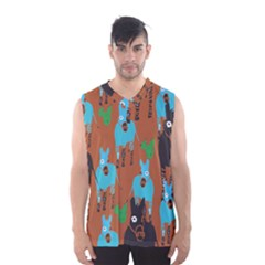 Zebra Horse Animals Men s Basketball Tank Top by Mariart