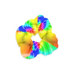 Complex Orange Red Pink Hole Yellow Green Blue Velvet Scrunchie by Mariart