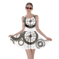 Hour Time Iron Skater Dress by Mariart