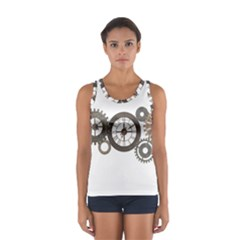 Hour Time Iron Women s Sport Tank Top  by Mariart