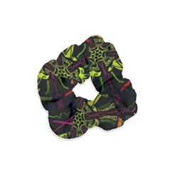 Inner Peace Star Space Rainbow Velvet Scrunchie by Mariart