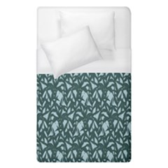 Interstellar Blog Tree Leaf Grey Duvet Cover (single Size) by Mariart