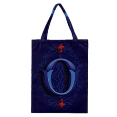 Marquis Love Dope Lettering Blue Red Alphabet O Classic Tote Bag by Mariart