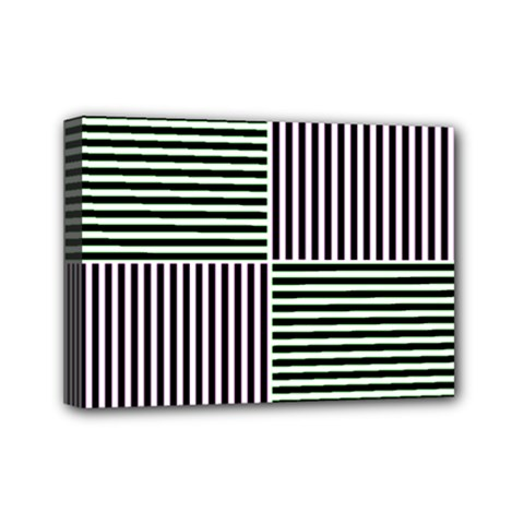 Mccollough Test Image Colour Effec Line Mini Canvas 7  X 5  by Mariart