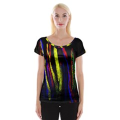 Multicolor Lineage Tracing Confetti Elegantly Illustrates Strength Combining Molecular Genetics Micr Women s Cap Sleeve Top by Mariart