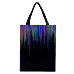 Rain Color Paint Rainbow Classic Tote Bag by Mariart