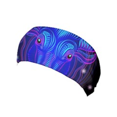 Sign Taurus Zodiac Yoga Headband by Mariart