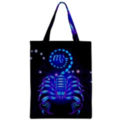 Sign Scorpio Zodiac Zipper Classic Tote Bag by Mariart