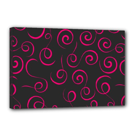 Pattern Canvas 18  X 12  by ValentinaDesign