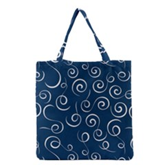 Pattern Grocery Tote Bag by ValentinaDesign