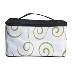 Pattern Cosmetic Storage Case by ValentinaDesign