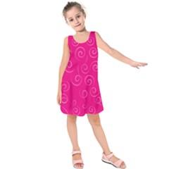 Pattern Kids  Sleeveless Dress by ValentinaDesign