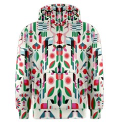 Abstract Peacock Men s Zipper Hoodie
