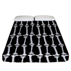Bones  Fitted Sheet (king Size)