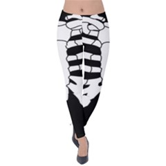 X Ray Velvet Leggings