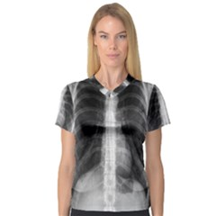 X Ray Women s V Neck Sport Mesh Tee