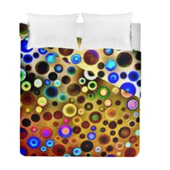 Colorful Circle Pattern Duvet Cover Double Side (full/ Double Size)