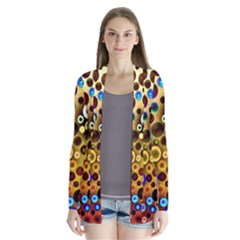 Colorful Circle Pattern Cardigans by Costasonlineshop