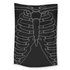 X Ray Large Tapestry by Valentinaart