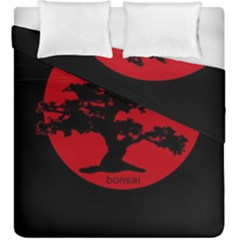 Bonsai Duvet Cover Double Side (king Size) by Valentinaart