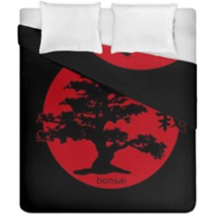 Bonsai Duvet Cover Double Side (california King Size) by Valentinaart