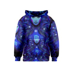 Sign Virgo Zodiac Kids  Pullover Hoodie by Mariart