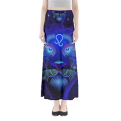 Sign Leo Zodiac Maxi Skirts by Mariart